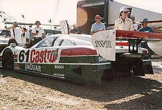 Jaguar XJR-9 - Image: Jaguar XJR9 61 L Rpaddock 89mia