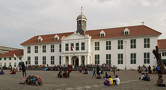 Kota Tua Jakarta - Jakarta History Museum was housed on the original town hall of 17th-century Batavia, the capital of Dutch East Indies and center of the Asian spice trade.