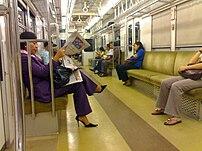 Jakarta rail way transportation system