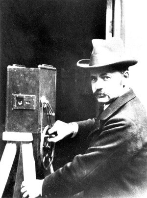 James Williamson (film pioneer) - James Williamson around 1900
