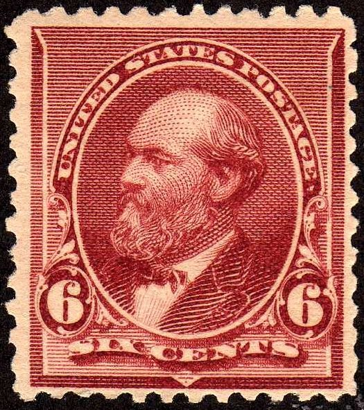 James Garfield2 1890 Issue-6c
