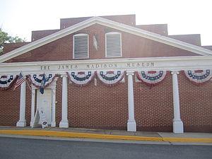 Orange, Virginia - James Madison Museum