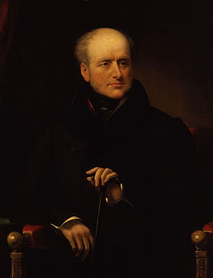 James Smith (writer) - Portrait of James Smith by James Lonsdale, circa 1835
