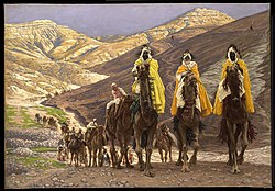James Tissot: Journey of the Magi