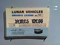 James Webb lunar drivers license.jpg