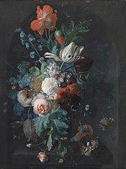 Un Vase avec Fleurs
