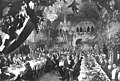 Japanese Commercial Commission to the Alaska Yukon Pacific Exposition, Seattle; banquet in Spokane , 1909 (AYP 618).jpg