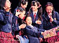 Japanese schoolgirls in a concert in Japan; December 2009.jpg