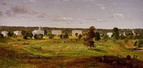 University of Michigan (1855) Jasper Francis Cropsey