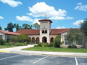 San Jose Episcopal Church - Image: Jax FL San Jose Admin Bldg 02