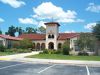 San Jose Episcopal Church - Image: Jax FL San Jose Admin Bldg 02
