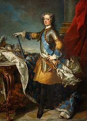 Jean-Baptiste van Loo: Louis XV, King of France and Navarre