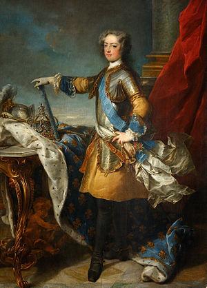 Jean-Baptiste van Loo - Image: Jean Baptiste Van Loo Louis XV, roi de France et de Navarre (1710 1774) Google Art Project