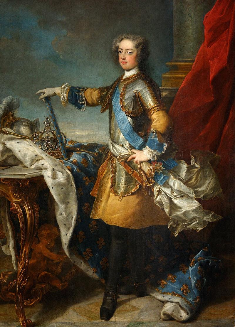Жан-Батист Ван Лоо - Людовика ХV, Руа де Франс э де Наварра (1710-1774) - Погуглите Project.jpg искусства