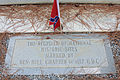 Jeff Davis marker by United Daughters of the Confederacy, Irwin county, GA, US.jpg