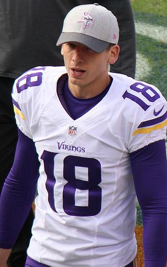 Jeff Locke (American football) - Locke with the Minnesota Vikings in 2015