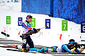 Jeremy Teela in biathlon - men's pursuit at 2010 Winter Olympics 2010-02-16 1.jpg