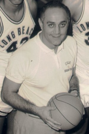 Jerry Tarkanian - Tarkanian in the 1970–71 season as Long Beach State head coach.