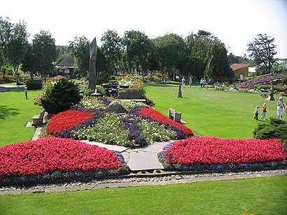 Sådan kommer du til Jespershus Blomsterpark med offentlig transport – Om stedet