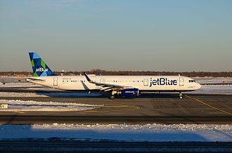 JetBlue - A jetBlue Airways A321-200 at New York JFK Airport.