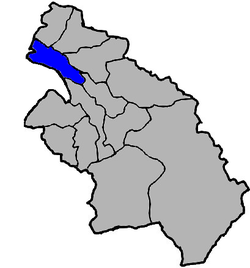 Location of Zhubei