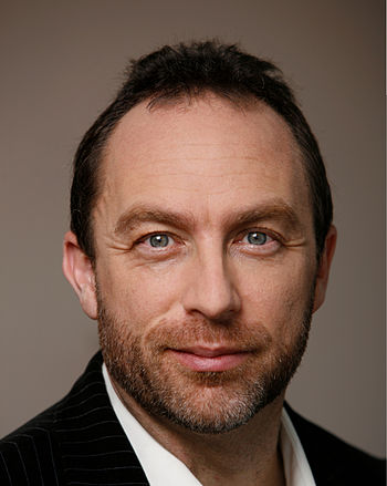English: A photo of Jimmy Wales used in the 20...