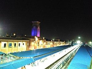 Jodhpur Junction railway station - Image: Jodhpur Railway Station at Night