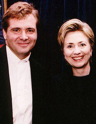 Joe Mohen - Joe Mohen and Hillary Clinton in 2000