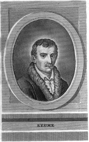 Johann Gottfried Seume