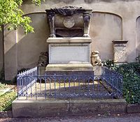 Johann George Chevalier de Saxe Grab.JPG