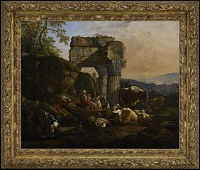 Roman Landscape with Cattle and Shepherds