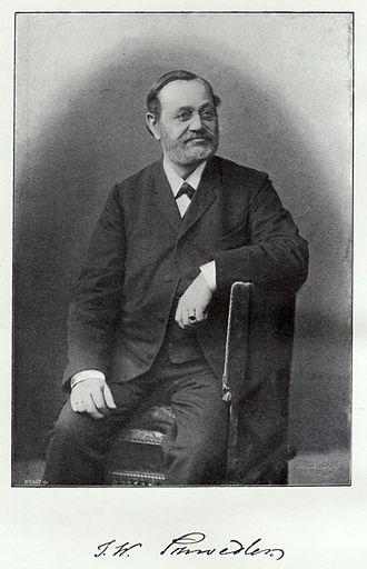 Johann Wilhelm Schwedler - Johann Wilhelm Schwedler; from Zeitschrift für Bauwesen, 1895 (the year after his death)
