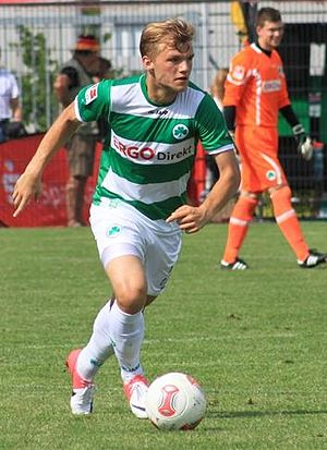 Johannes Geis - Geis playing for Greuther Fürth in 2012