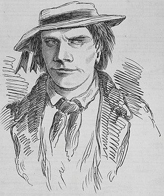 John Gilbert (bushranger) - Engraving of John Gilbert