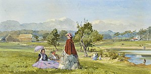 John Absolon - Absolon's watercolour A Summer Idle