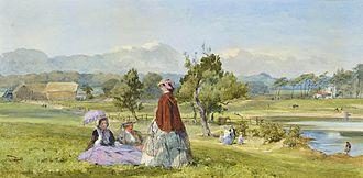 John Absolon - Absolon's watercolour A Summer Idle