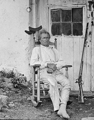 Timothy H. O'Sullivan - Image: John Burns of Gettysburg