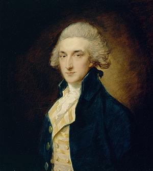 Sir John Swinburne, 6th Baronet - John Swinburne, 1785 painting by Thomas Gainsborough.