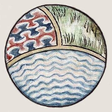 John Gower world Vox Clamantis detail