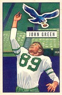 John Green (defensive end) American football player
