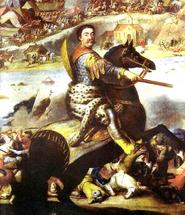 Jan Sobieski at the Battle of Chotyn 1673