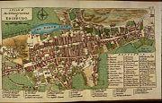 John Rocque Plan von Edinburgh 1764