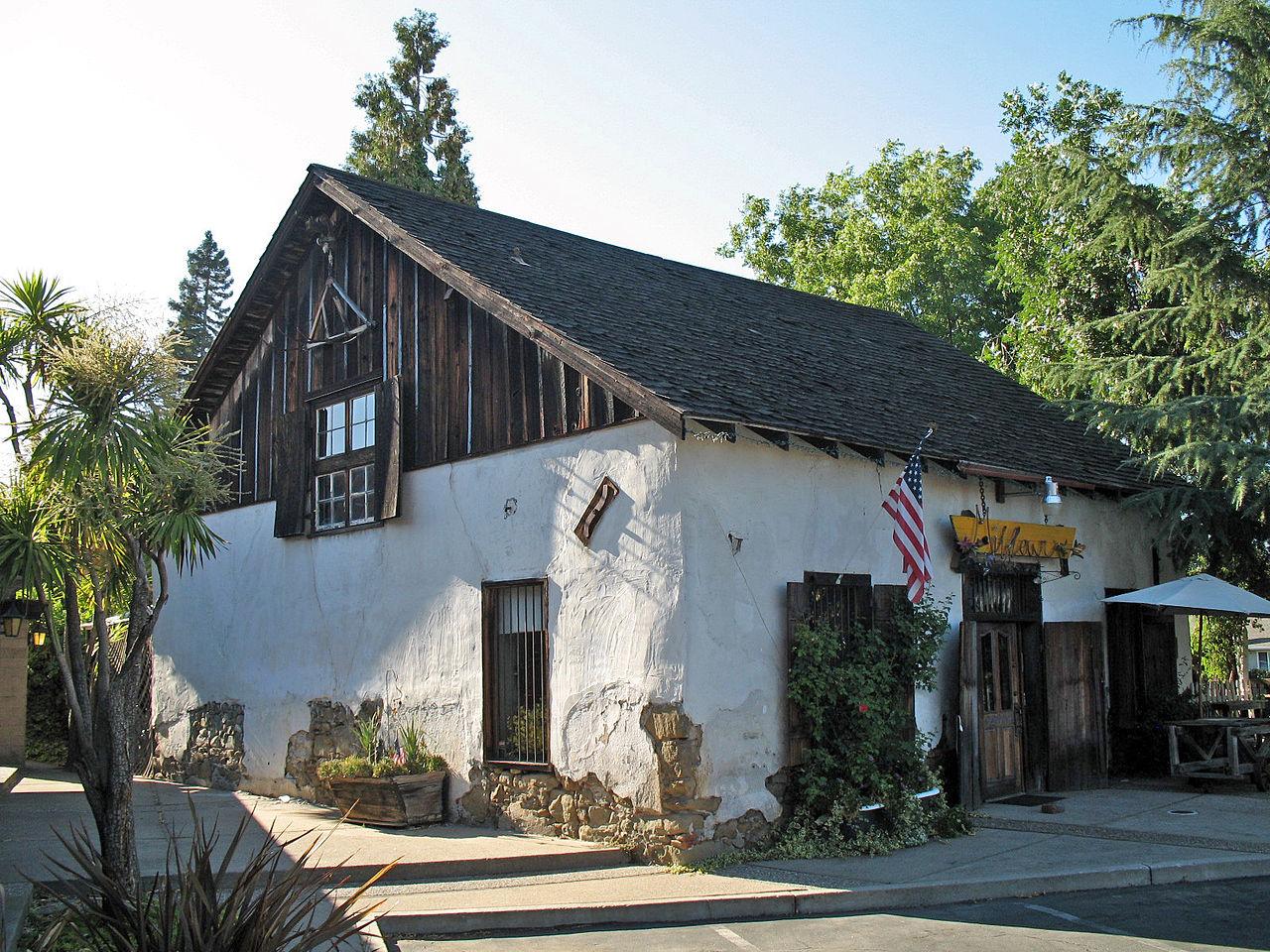 File John W Kottinger Adobe Barn Pleasanton Ca Jpg