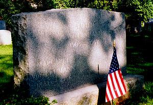 John von Neumann - Von Neumann's gravestone