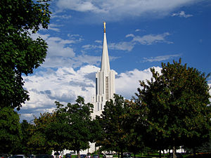 South Jordan, Utah - Jordan River Utah Temple, March 2006