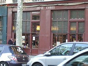 José Corti - Bookstore José-Corti, 11 rue de Médicis in Paris.