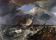 J.M.W. Turner, Calais Pier