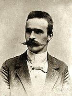 J�zef Pi�sudski w 1899 r.