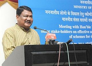 Jual Oram Politician from Odisha, India