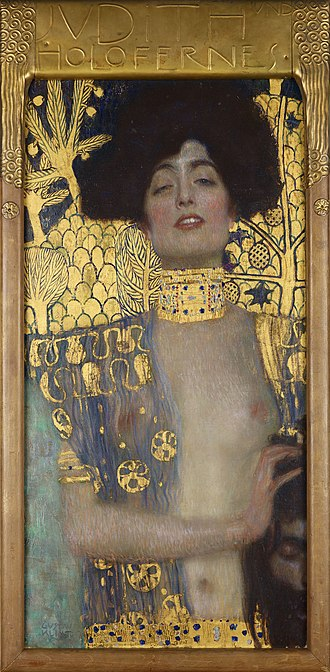 1901 in art - Klimt – Judith and the Head of Holofernes